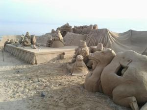Pessebre d'arena la Pineda